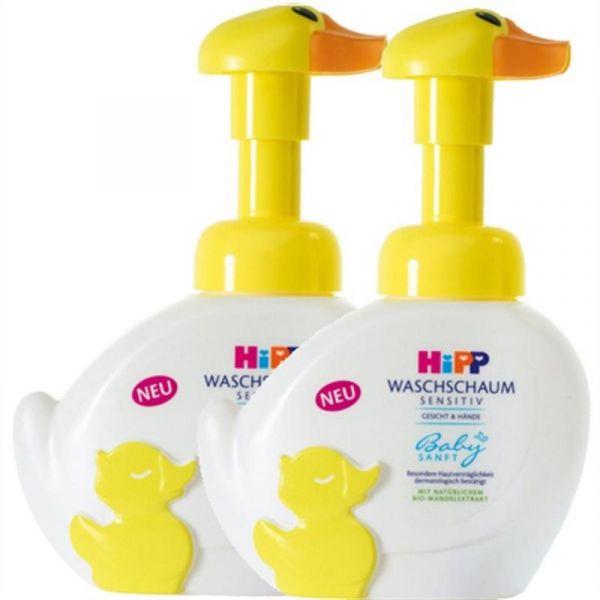 【湊單品】Hipp 喜寶 免敏無淚泡泡洗手洗臉液 250ml*2瓶
