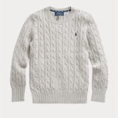 Ralph Lauren 拉夫勞倫 Cable-Knit 8-20歲大童針織衫