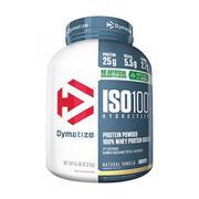 Dymatize ISO 100 水解乳清蛋白營養粉 甜葉菊增甜 香草味 5磅