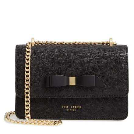 Ted Baker London Jayllaa 黑色蝴蝶结包包