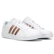 【第二件半價】adidas 阿迪 Baseline 運動鞋 中/大童款