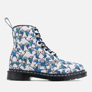 【大碼福利】Dr. Martens Castel Canvas Finn 女士馬丁靴