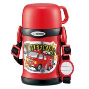 【中亞Prime會員】Zojirushi 象印 不銹鋼兒童保溫杯 帶杯蓋 450ml SC-ZT45-RA 紅色汽車款