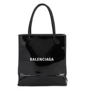 BALENCIAGA XXS漆皮購物托特包