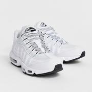 Nike Air Max 95 全白女士運動鞋