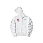 OFF-WHITE 涂鴉印花飾標語連帽衛衣