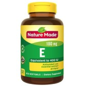 【買1送1+每單減$2】Nature Made 維生素E膳食補充劑軟膠囊 400IU維生素E 300粒