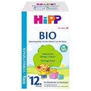2件9.3折!【中亞Prime會員】Hipp 喜寶 有機嬰幼兒奶粉 1+段 800g*4盒裝