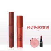 【雙11預售】【返利14.4%】3CE 三熹玉 絲絨唇釉+送正裝口紅&小圓包