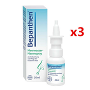 Bayer 拜耳 Bepanthen 嬰兒海水鼻腔噴劑 3瓶裝