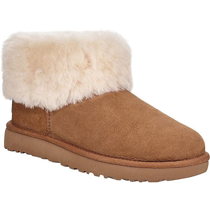 【三倍積分+限時高返13%】碼全多色可選~UGG Classic Mini Fluff 女士短筒毛毛雪地靴