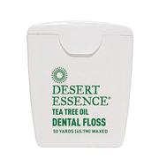 【額外8折】Desert Essence 茶樹油牙線 上蠟 45.7米