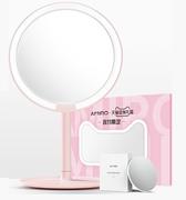 【雙11預售】【返利14.4%】李佳琦直播推薦!AMIRO 臺式LED化妝鏡定制禮盒