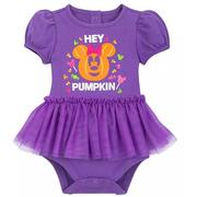 Disney 迪士尼 米妮寶寶紫色連體衣