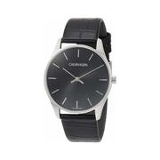 Calvin Klein 卡爾文·克萊因 Classic 系列 黑色男士時裝腕表 K4D211C1