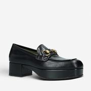 Gucci 古馳 Houdan 皮革厚底樂福鞋