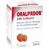 """【3件9.9歐】Oralpadon 嬰幼兒電解質水 寶寶發燒腹瀉 草莓味 5.13g*10包 <b style=""""color:#ff7e00"""">€3.3(約26元)</b>"""