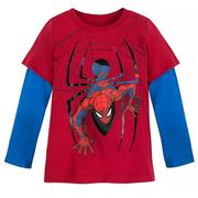 第2件半價!Disney 迪士尼 蜘蛛俠男孩長袖上衣