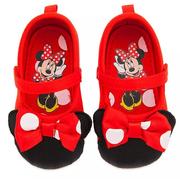 Disney 迪士尼 米妮紅色寶寶鞋