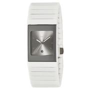 近期好價!Rado 雷達表 Ceramica 系列 白色陶瓷女士氣質腕表 R21587102