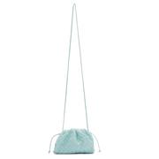 """BOTTEGA VENETA  Intrecciato 'The Pouch 20"""" 天藍色包包"""