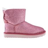 【55專享】UGG 粉色蝴蝶結亮片雪地靴