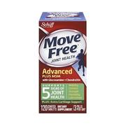 【2件0稅免郵】關節健康!Schiff Move Free 氨基葡萄糖軟骨素加 MSM 120粒
