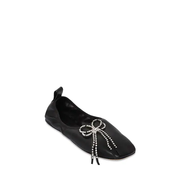LOEWE 10毫米壓紋皮革芭蕾鞋