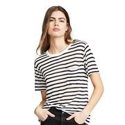 alexanderwang.t 經典條紋竹節紋針織 T 恤