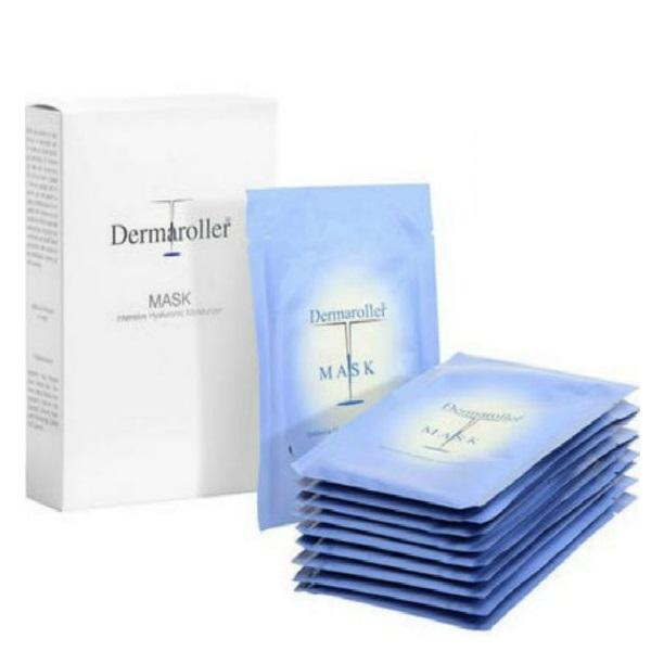 【包郵包稅套裝】Dermaroller 玻尿酸精華面膜 10片*2盒