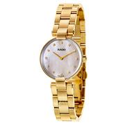 Rado 雷達表 Coupole 系列 金色女士氣質腕表 R22857923