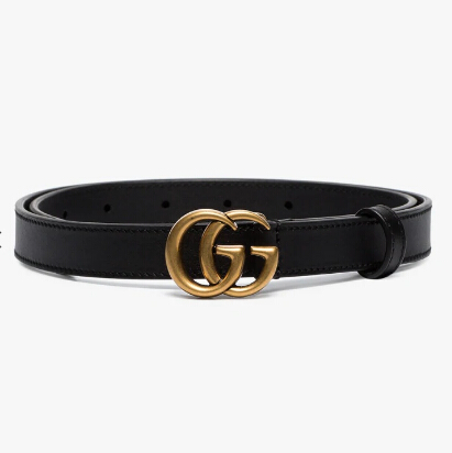 Gucci Marmont 2cm細腰帶