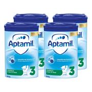 Aptamil 德國愛他美 Pronutra 嬰幼兒奶粉 3段 800g*4罐 適合10個月以上