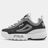 """【限時高返7.5%】Fila 斐樂 Disruptor 大童款老爹鞋 <b style=""""color:#ff7e00"""">$40(約279元)</b>"""