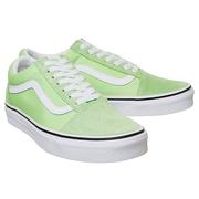 Vans 萬斯 Old Skool 綠色低幫板鞋