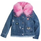 Disney 迪士尼 女孩牛仔夾克外套