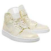 Air Jordan 1 淺香檳金色中幫運動鞋
