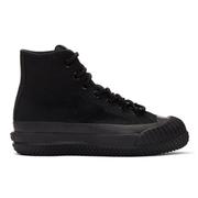 Converse Black Bosey MC 黑色高幫防水帆布鞋