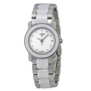 【55專享】Tissot 天梭 T-Trend 系列 銀白色陶瓷女士優雅腕表 T064.210.22.016.00