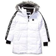 【中亞Prime會員】Calvin Klein 女童長款羽絨夾克