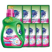 【返利2.16%】超能 雙離子洗衣液 11斤*4套