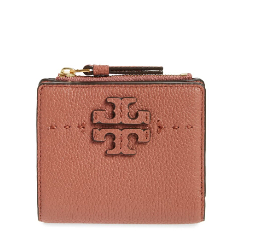Tory Burch Mini McGraw 真皮小钱包