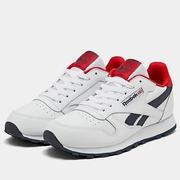 【限時高返7.5%】Reebok 銳步 Classic Leather 大童款運動鞋