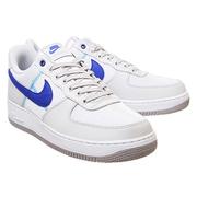 Nike 耐克 Air Force 1 空軍1號 藍白拼色運動鞋