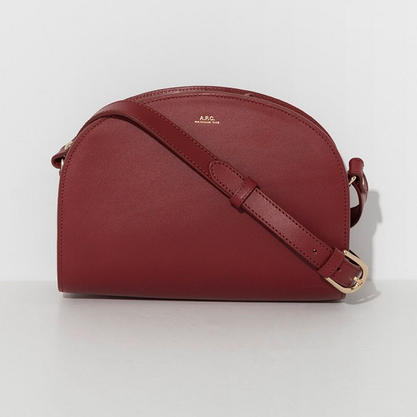 A.P.C. Red Half Moon Bag 半月包