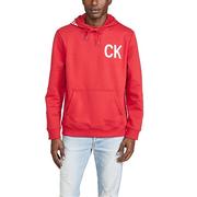 Calvin Klein Jeans 新穎經典圖案連帽上衣
