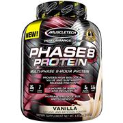 【中亞Prime會員】Muscletech 肌肉科技 Phase 8 高性能緩釋蛋白粉 2.09kg 香草味
