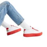 adidas Originals x Fiorucci 合作款白色 sleek 小天使運動鞋