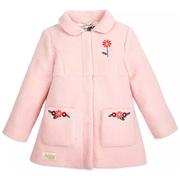 Disney 迪士尼 女孩粉色花卉外套