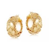 【55專享】Lucy Williams x Missoma 金色圓形鏤空耳環